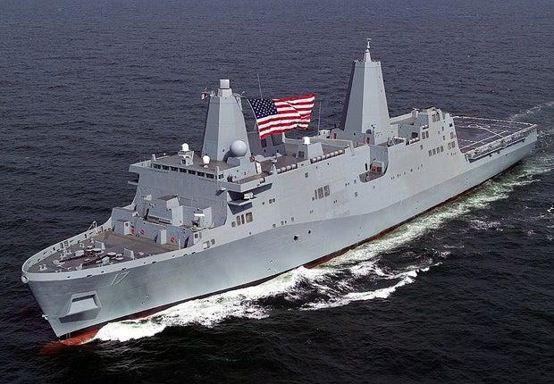 LPD 17 class ship