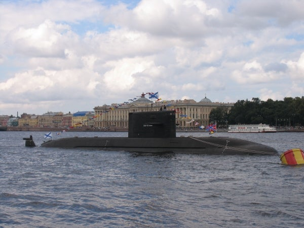 Sankt-Peterburg (B-585) ship