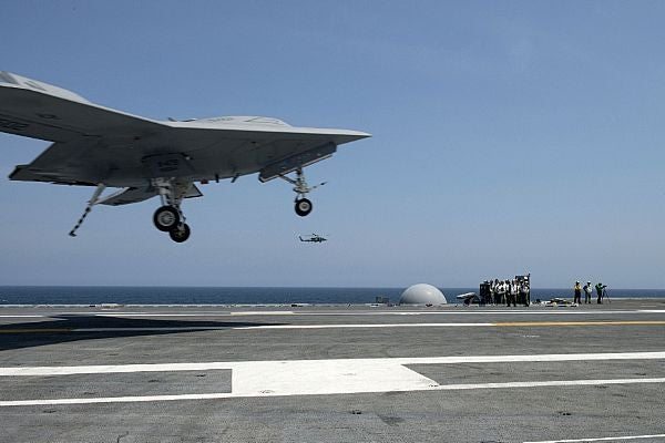 X-47B Unmanned Combat Air System (UCAS) demonstrator