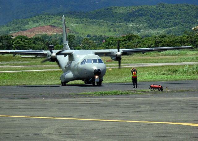 Colombian Navy's CN-235 Maritime Patrol Aircraft (MPA)