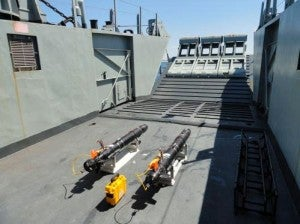 SeeTrack Military software equipped on to AUV