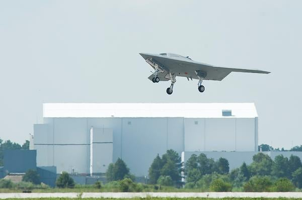 X-47B unmanned combat air system demonstrator (UCAS-D)