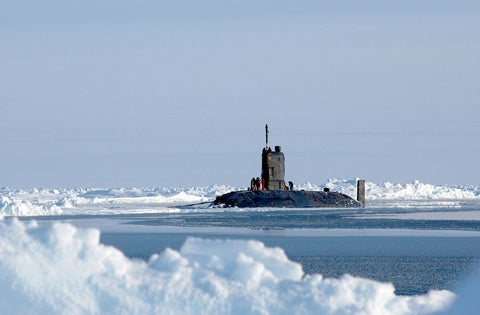 Trafalgar-class nuclear-powered submarine