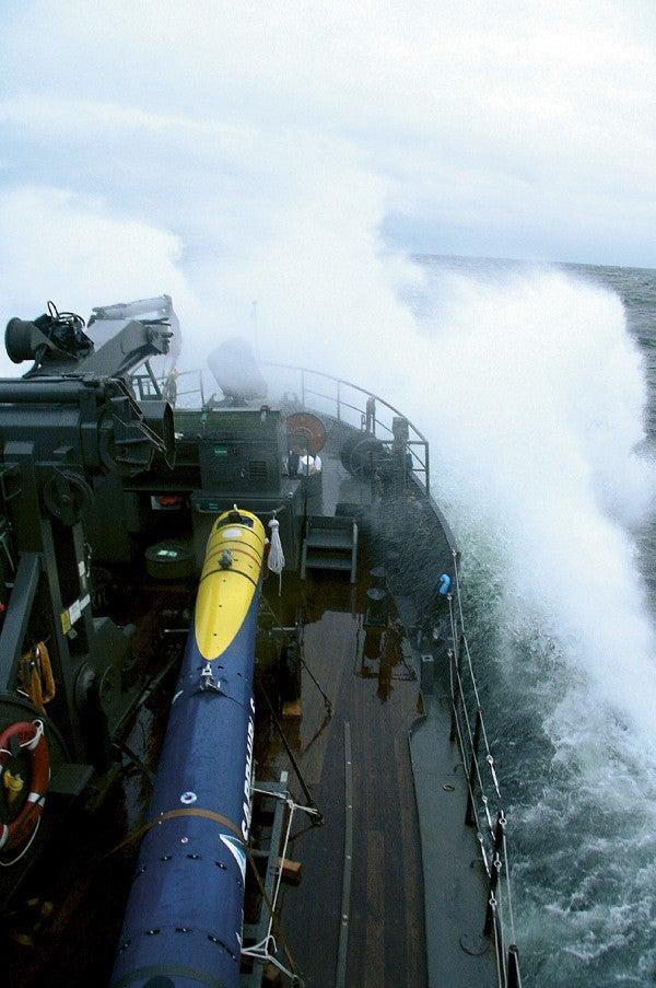 Saab's autonomous underwater vehicle