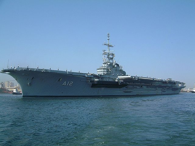 Brazilian Navy operates one aircraft carrier