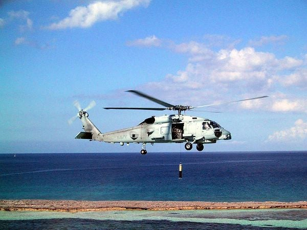 MH-60R Seahawk multi-mission helicopter