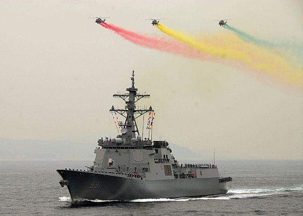 first Sejong the Great (DDG 991) Aegis destroyer