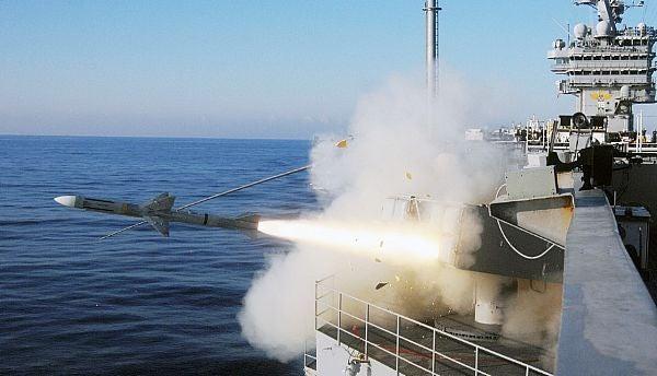 Nato Sea Sparrow missile