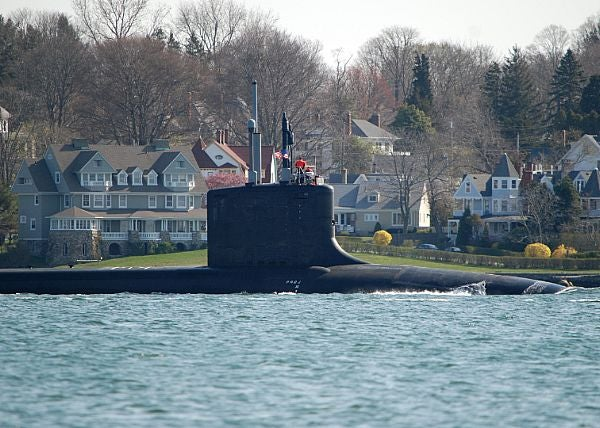 US Navy's ninth Virginia-class nuclear-powered attack submarine USS Missouri (SSN-780)