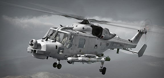 UK Royal Navy's AW159 Wildcat helicopter